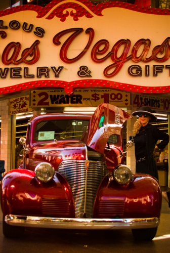 Christine in Las Vegas